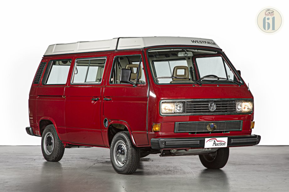 lot  volkswagen  westfalia  oldtimer auction lasta garage  risultati